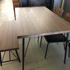 宇都宮 ダイニングテーブルセット インテリアコア 買取