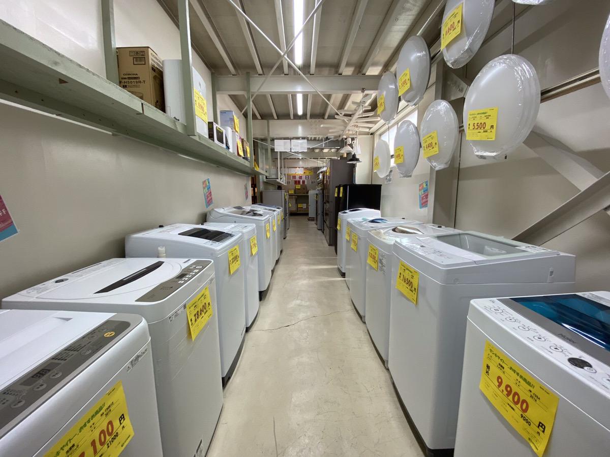 宇都宮 中古 洗濯機 冷蔵庫 家電