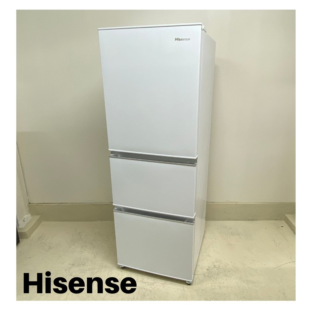 宇都宮 ハイセンス 冷蔵庫 282L HR-D2801W 2020年製
